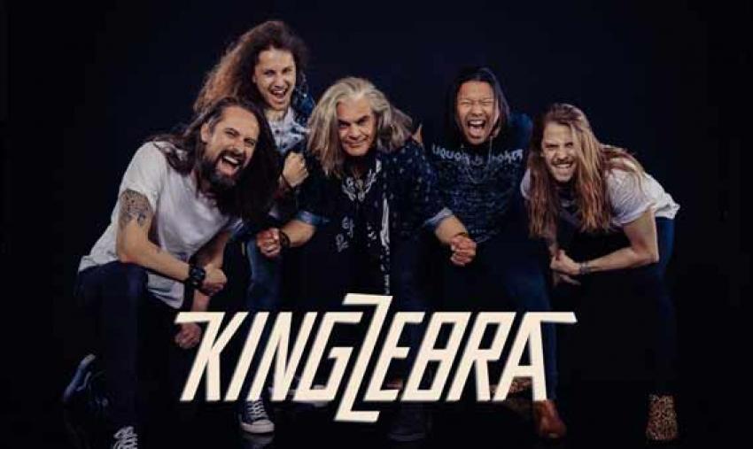 KING ZEBRA stellen den neuen Song «Hot Cop Lady» vor